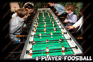 south florida party entertainment  foosball