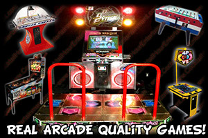 south florida party entertainment arcade games