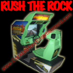 florida arcade game rush the rock driving game